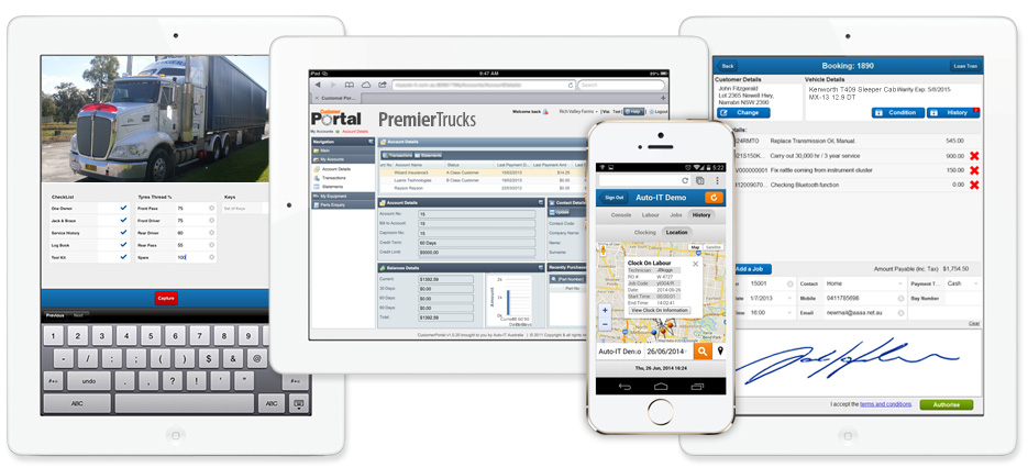 Mobile Truck Dealer Apps - Auto-IT